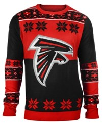 Forever Collectibles Men's Atlanta Falcons Big Logo Christmas Sweater Red