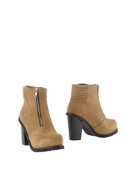 Surface To Air Ankle Boots Beige