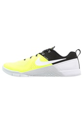 Nike Performance Metcon 1 Sports Shoes Volt White Black Pure Platinum Neon Yellow