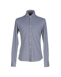 Rossopuro Shirts Shirts Men Blue