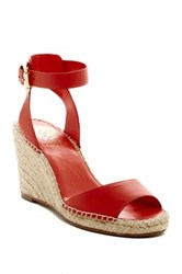 Vince Camuto Tagger Espadrille Wedge Sandal Red