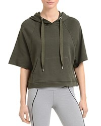 2Xist 2 X Ist French Terry Hoodie Military Green