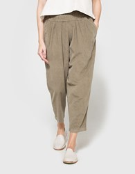Black Crane Carpenter Pant In Cement