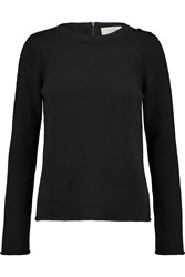 Goat Cashmere Sweater Black