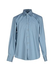 Boss Black Shirts Shirts Men Slate Blue