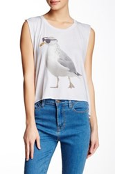 Wildfox Couture Cool Gull Tank White
