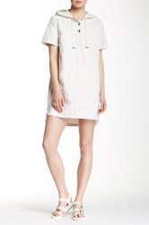 Marc By Marc Jacobs Hooded Dress White