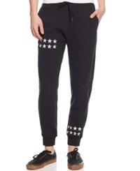 Ring Of Fire Star Print Jogger Pants