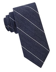 William Rast Marlon Striped Tie Denim