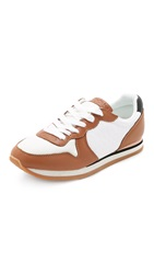 See By Chloe Kate Jogger Sneakers Beige White