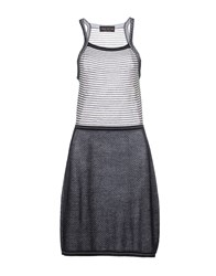 Fabrizio Del Carlo Dresses Knee Length Dresses Women Steel Grey
