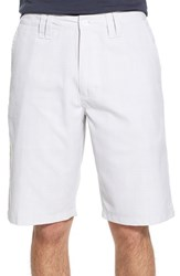 Men's O'neill 'Delta Plaid' Chino Shorts White