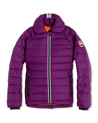 Canada Goose Youth Charlotte Quilted Jacket Arctic Dusk Xs Xl