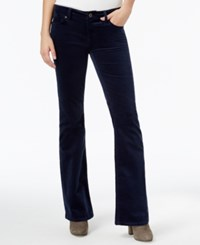 Tommy Hilfiger Velveteen Flared Pants Only At Macy's Masters Navy