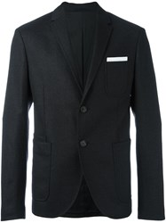 Neil Barrett Two Button Blazer Black