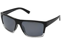 Von Zipper Dipstick Polarized Joel Sig Black Silver Polar Sport Sunglasses Gray