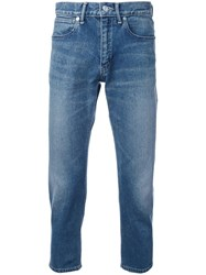 Bedwin And The Heartbreakers Slim Fit Cropped Jeans Blue