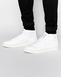 Religion Paper Hi Top Trainers White