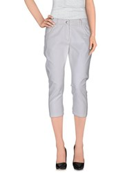 Pinko Trousers 3 4 Length Trousers Women Ivory