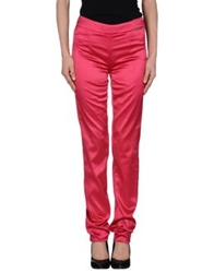 Galliano Casual Pants Fuchsia
