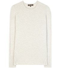 Loro Piana Fenway Cashmere Sweater White
