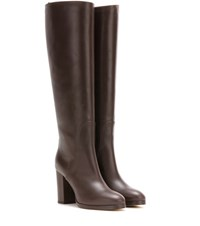 Loro Piana Hidcote Leather Boots Brown