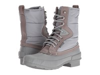 Tretorn Foley Grey Grey Women's Lace Up Boots Gray