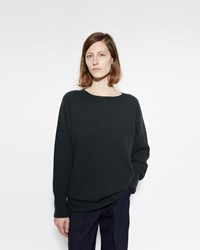 Margaret Howell Oversize Pullover Dark Green