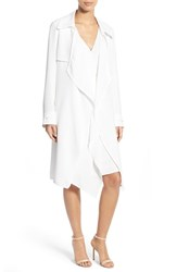 Women's Adrianna Papell Open Front Trench Coat