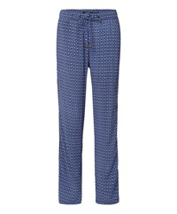Olsen Printed Trousers Navy