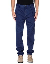 Met And Friends Trousers Casual Trousers Men Dark Blue