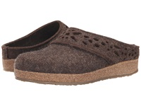 Haflinger Lacey Chocolate Women's Slippers Brown