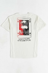 Unif Game Of Life Tee White