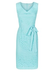 Kaliko Lace Shift Dress Pastel Green
