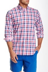 Tailorbyrd Check Plaid Long Sleeve Shirt Red
