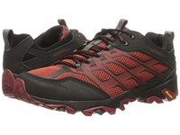 Merrell Moab Fst Burgundy Black Men's Lace Up Casual Shoes