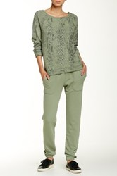 Soft Joie Batilde Slim Sweatpant Green