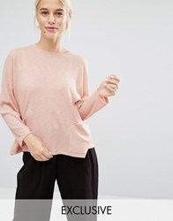 Monki Pocket Jumper Pink