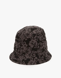 Engineered Garments Reversible Bucket Hat Black