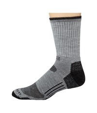 Carhartt Merino Wool All Terrain Crew Sock Heather Gray Men's Crew Cut Socks Shoes