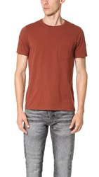 Club Monaco Williams Crew Tee Rosewood