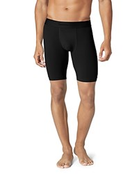 Tommy John Air Stretch Mesh Boxer Briefs Black
