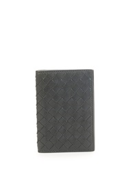 Bottega Veneta Fold Over Leather Card Case