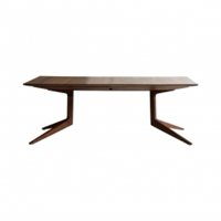 Light Extending Table Walnut