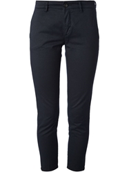 Department 5 Skinny Cropped Trousers Blue
