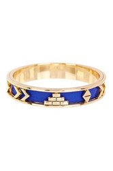 House Of Harlow Aztec Bangle Blue