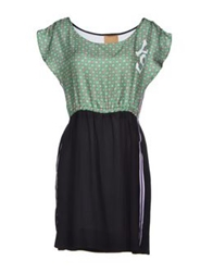 Alice San Diego Short Dresses Green