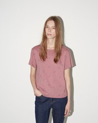A.P.C. T Shirt Aquarius Pink