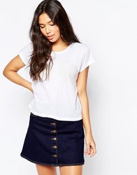 Wildfox Couture Wildfox Shell Print T Shirt Wedding White
