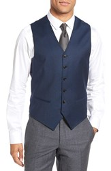 Ted Baker Men's London 'Jones' Trim Fit Solid Wool Vest